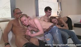 Young Sex Parties - Sharing the fruit of group sex