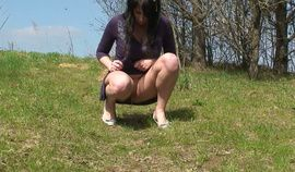 Pissing Girls Solo Outdoor 2 hardcore
