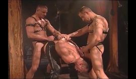 leather gay guys in  action 1127 b