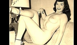 Bettie Page  Cum Party