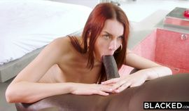BLACKED Redhead needs a real man to satisfy her needs