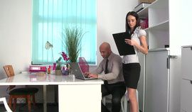 Emeline Is A Horny Secretary Hot Amateur Porno