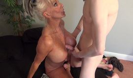 Granny Sally is a hot mature slut hungry for cock
