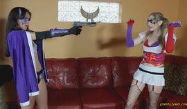 Batwoman Lezdom attack of the clown 720p
