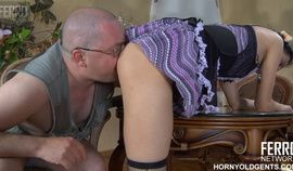 Little maid fucked by a fat old man