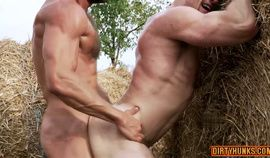 Muscle gay sex ass to mouth and creampie