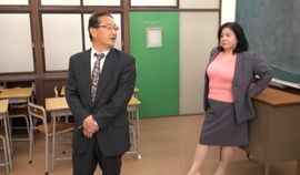 Principal fucking two beautiful Asian moms
