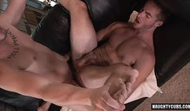 Gay studs getting his ass pounded hard