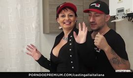 Naughty Italian Anal Audition With Busty Amateur