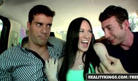 First Time Auditions - Onia Nevaeh has her first mmf threesome - Reality Kings
