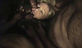 Holly Hot Blonde Wife Gangbanged at high school reunion
