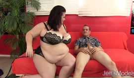 Lucky Skinny BF Gets to Plow Busty Older Plumper Lady Lynn