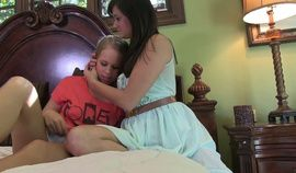 Milf pops her Petite Step-Daughter's cherry