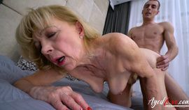 Hungarian Granny Szuzanne fucked hard part 1 video