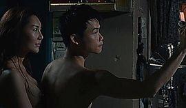 Asian celebrity in movie-Love actually sucks. Hong Kong