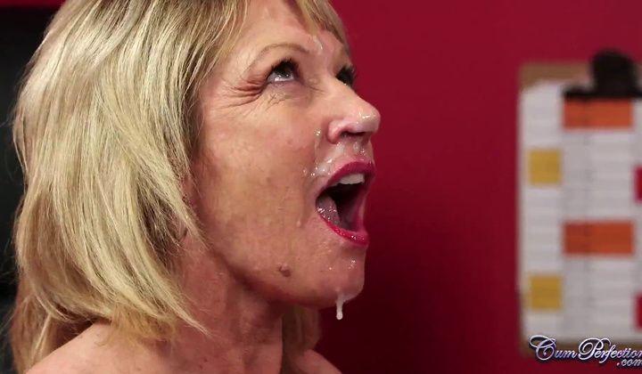 Mouth Cum While Sucking