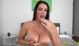 B M X gorgeous slut with big boobs in HD