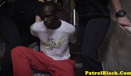 Interacial femdom officer cockrides thug