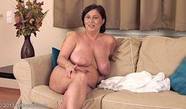 Mature interview - Busty brunette beauty