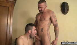 Latin bear casting couch with cumshot HD  2